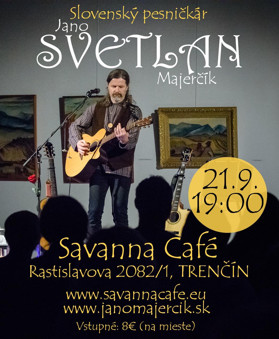 Koncert Jána SVETLANA Majerčíka