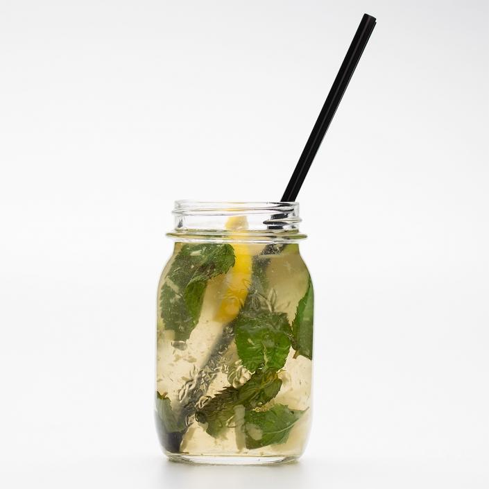 Zázvorovo mätová limonáda