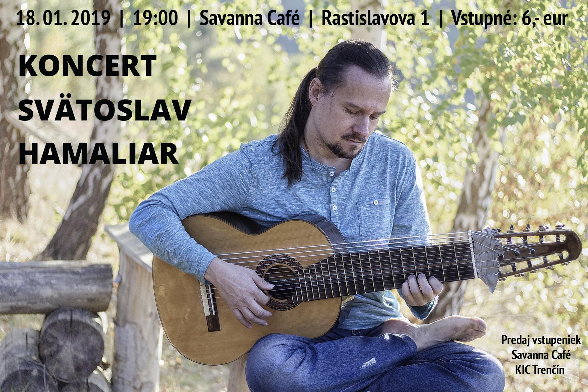 Svätoslav Hamaliar - koncert