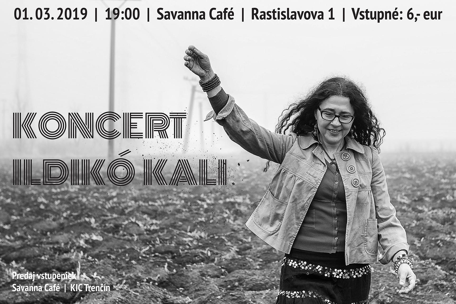 Koncert Ildikó Kali plagát