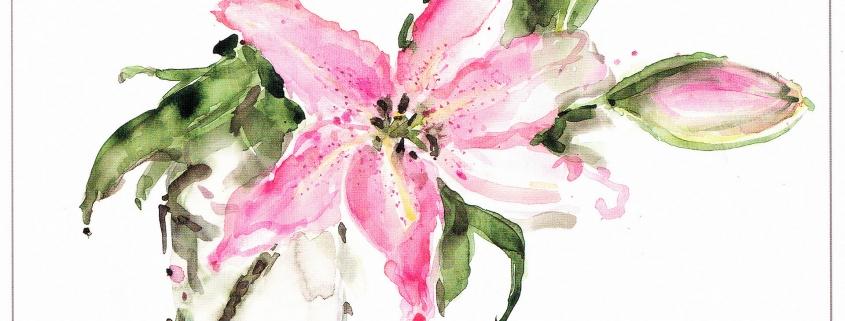 Výstava Kvety na palete