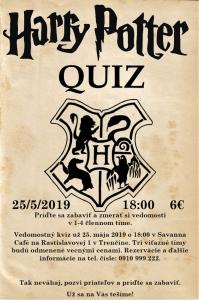 Harry Potter - Kvíz